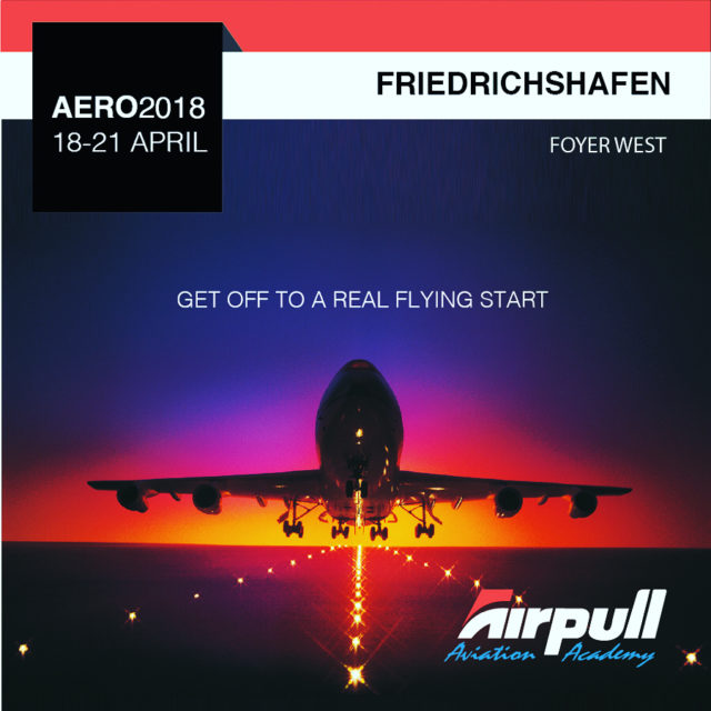Airpull Aviation Academy will be at Aero Friedrichshafen 2018 fromhellip